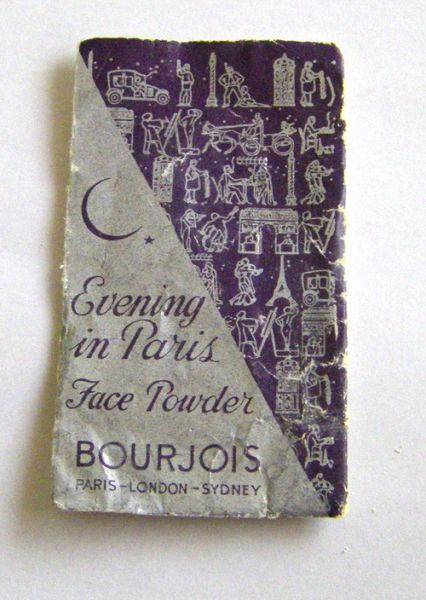 Evening in Paris powder sample