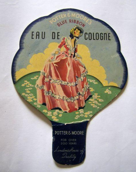 Potter and Moore - Blue Ribbon Eau De Cologne