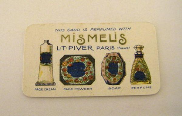 L T Piver - Mismelis Perfume Card