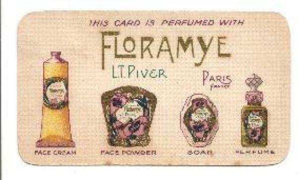 L T Piver - Floramye Perfume Card