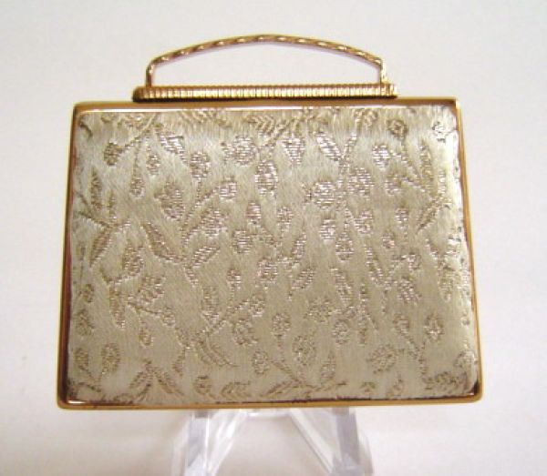 Pygmalion brocade handbag compact