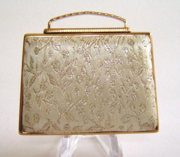 Pygmalian brocade handbag compact