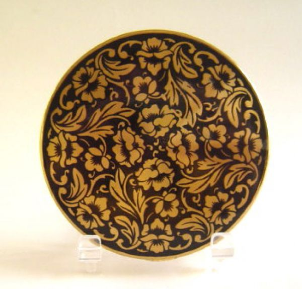 Darling / Kigu Compact black and gold floral design