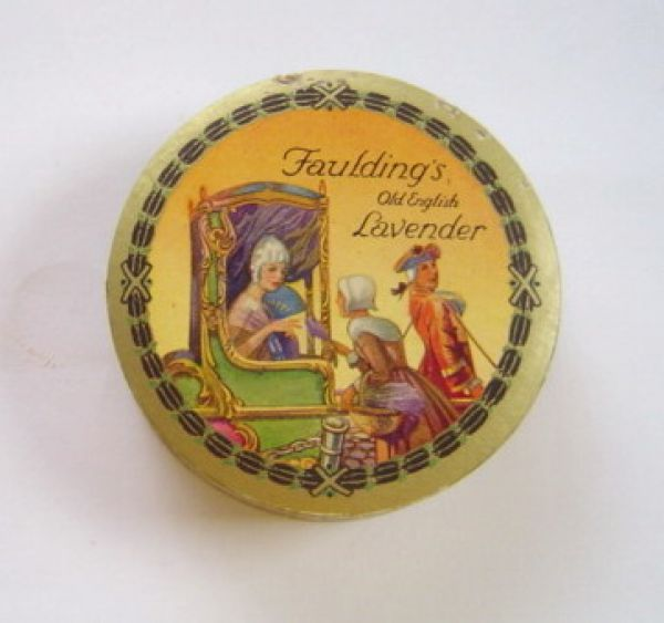 Faulding's - Old English Lavender face powder