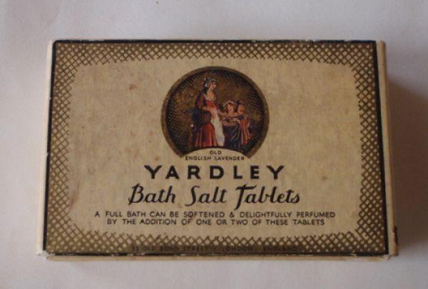 Yardley - Bath Salt Tablets - Old English Lavender