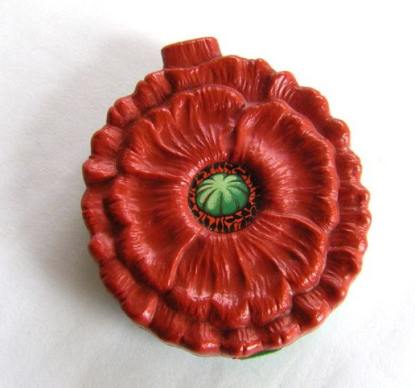 California Poppy - perfume bottle case