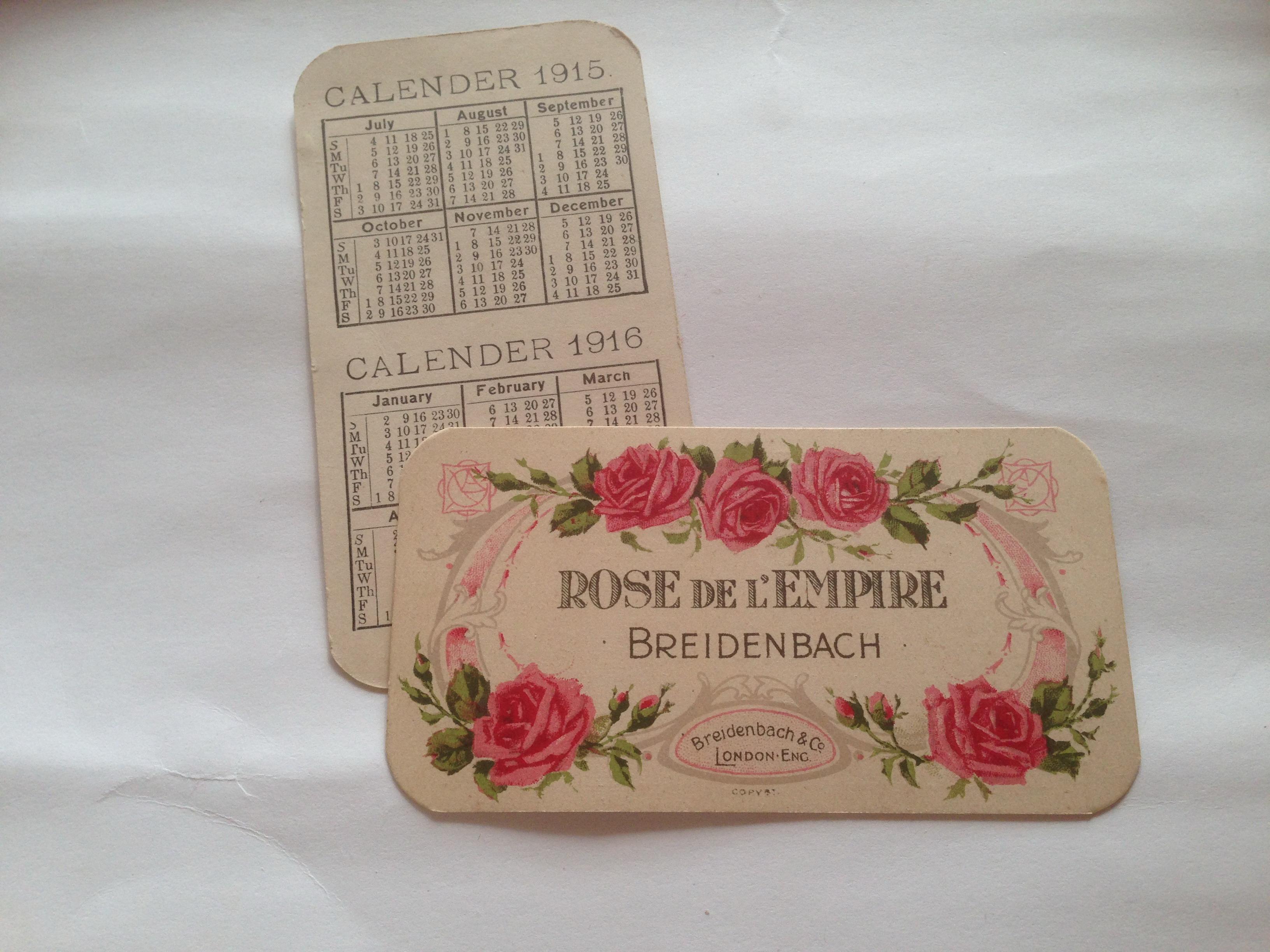 Breidenbach - Rose de L'Empire